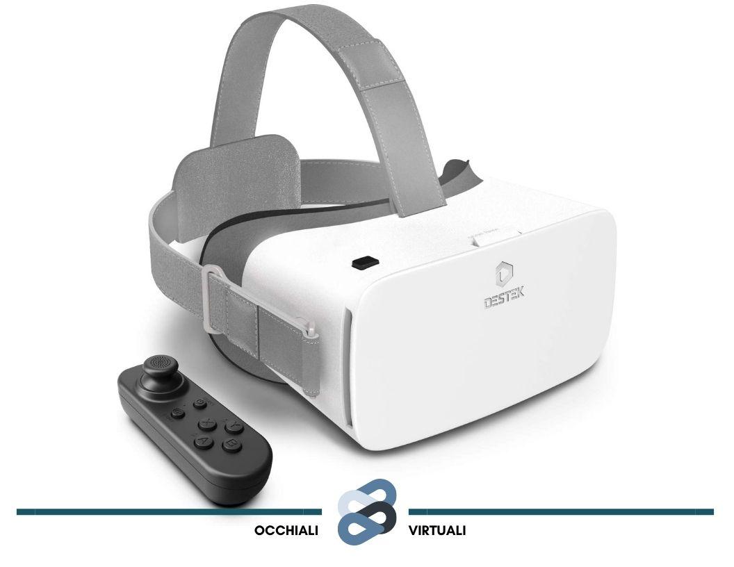 modello di visore per realtà virtuale Destek VR 5