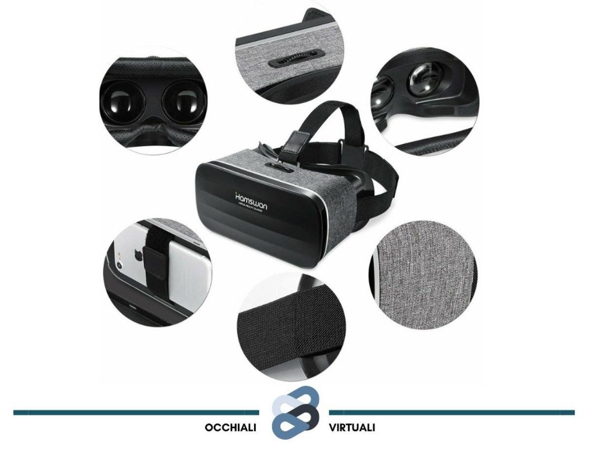 hamswan occhiali visori virtuali