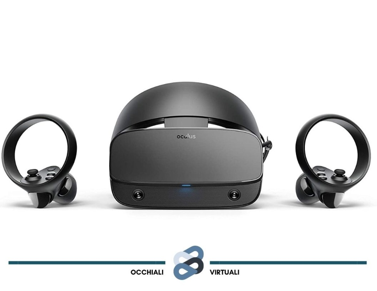 visore di realtà virtuale oculus rift s