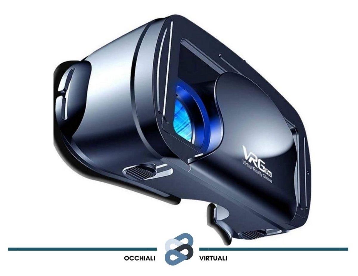 visore realtà virtuale vr lekam